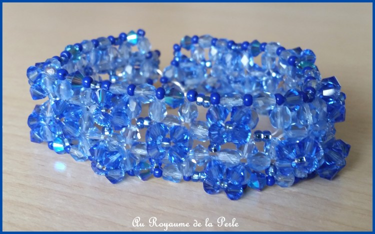 Bracelet bleu Ode à la vie Ad