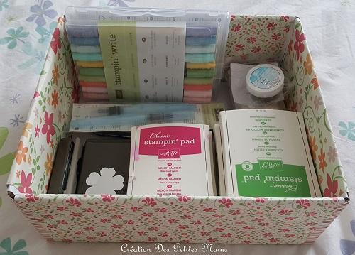 Très bien Home Déco : comment customiser une boîte en carton – Le Fil d'Eve #LA_34