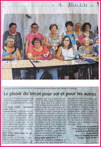 Tricot Thé AG