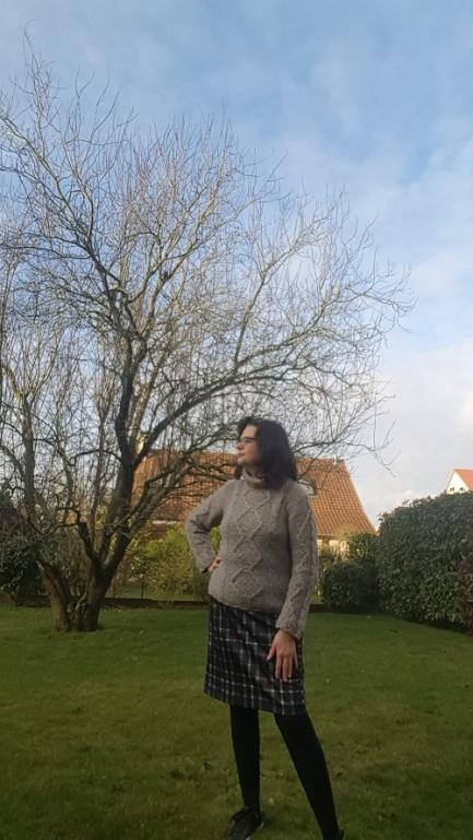 916d061b280a7 Une jupe droite Bleu Bonheur – Le Fil d Eve