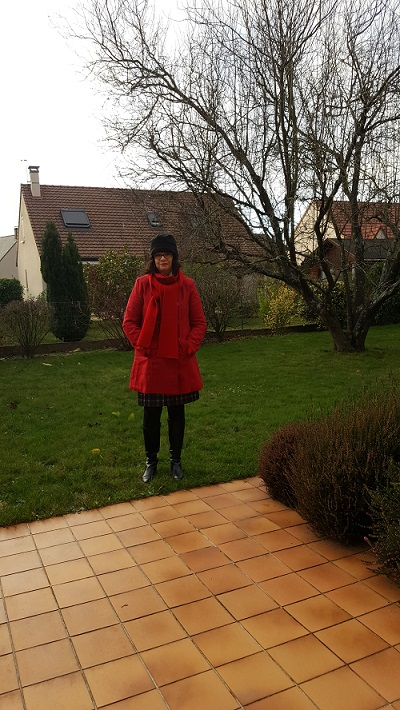 Manteau rouge Bleu Bonheur 3