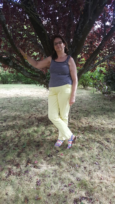 Pantalon jaune Bp2